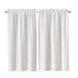 Bathroom Curtains For Windows Wayfair