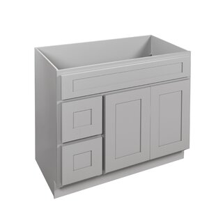 Elegant 42 Single Bathroom Vanity Base Only by NelsonCabinetry