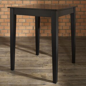 Delphi Tapered Leg Counter Height Pub Table by Charlton Home