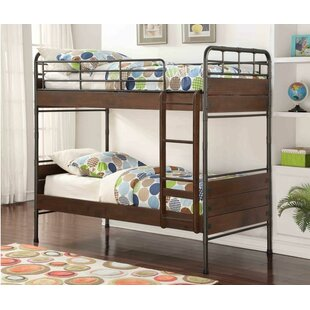 Where buy  West Stackable Twin over Twin Standard Bed By Harriet Bee