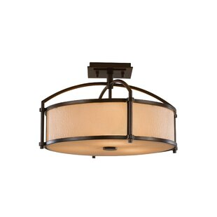 Etten Semi Flush Mount by Darby Home Co