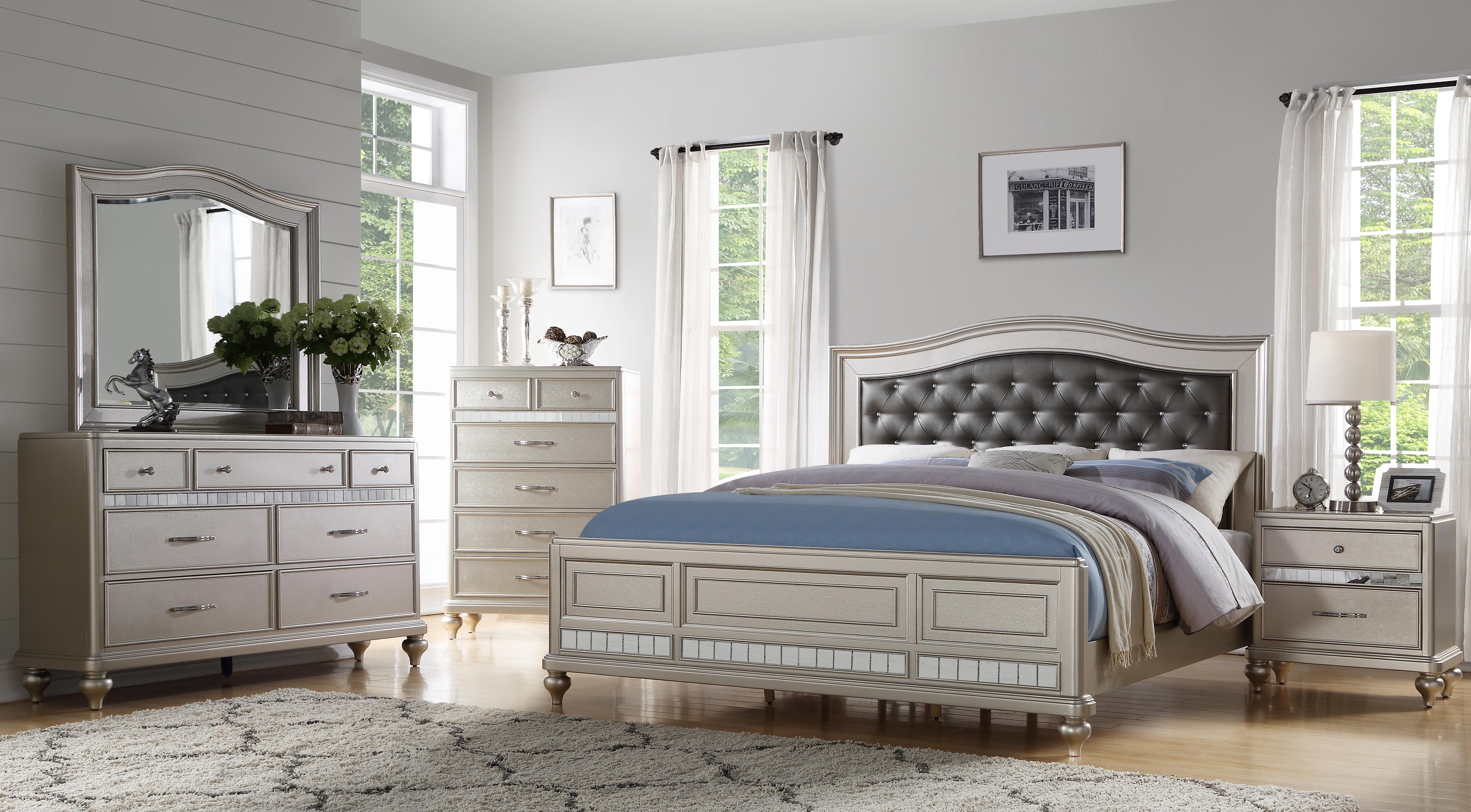 Rosdorf Park Keytesville 4 Piece Bedroom Set Reviews Wayfair