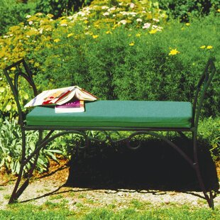 Arona Wrought Iron Garden Bench