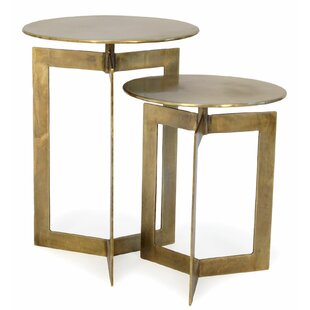 Banda 2 Piece Nesting Table Set by Bloomsbury Market