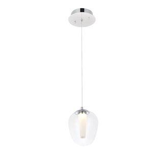 Graff 1-Light LED Teardrop Pendant by Orren Ellis