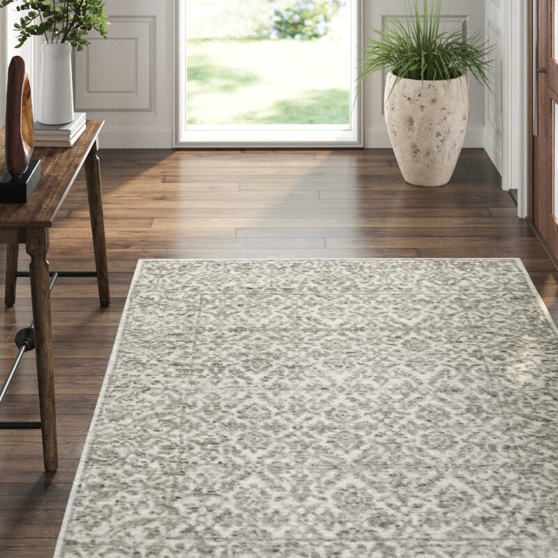 Exquisite Rugs Sloane Hand Knotted Ivory Gray Area Rug Wayfair