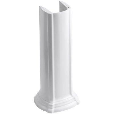 Kohler Portrait Pedestal Sink.Portrait Bathroom Sink Pedestal Kohler Finish White