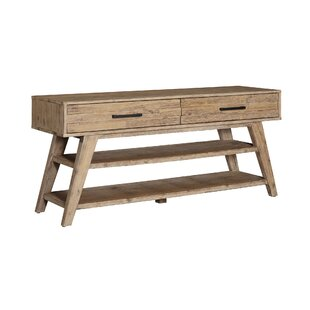 Union Rustic Willard 2 Drawer Console Table