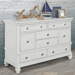 Cape May 8 Drawer Double Dresser by Evolur