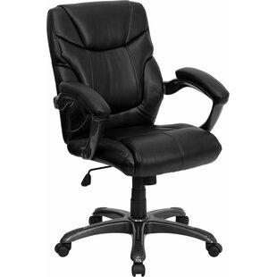Symple Stuff Kropp Mid-Back Overstuffed Ergonomic Executive Chair