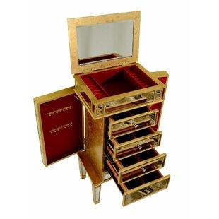 Great choice Rabia Freestanding Jewelry Armoire ByHouse of Hampton