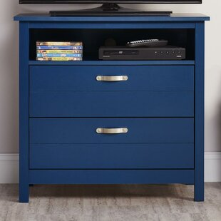 Mikel 2 Drawer Media Dresser by Viv + Rae