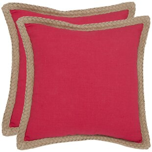Felicia Cotton Throw Pillow (Set of 2)