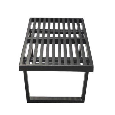 Stupendous Fine Mod Imports Wood Bench Color Black Size 14 H X 60 W X 18 D Machost Co Dining Chair Design Ideas Machostcouk