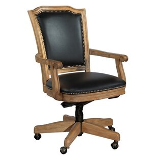 Canora Grey Broseley Mid-Back Leather Executive Chair