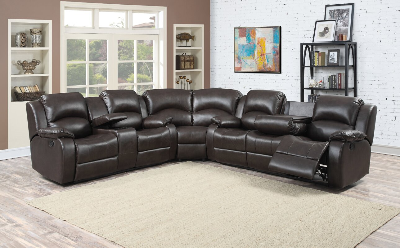 Samara Reclining Sectional : sectional recliner - Sectionals, Sofas & Couches