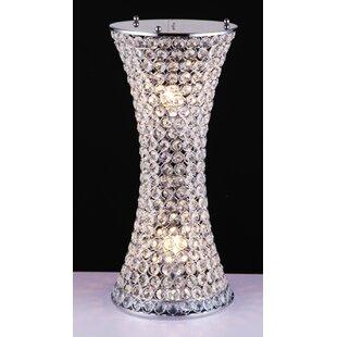 Drakes Crystal Beaded 22 Table Lamp