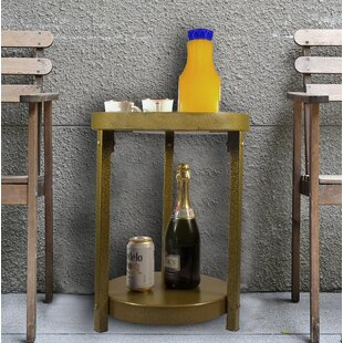 Mathais Multi-Purpose Metal End Table