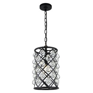 Mercer41 Morion 1-Light LED Cylinder Pendant