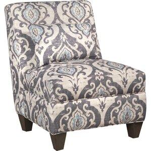 Mowbray Slate Large Slipper Chair