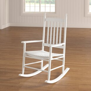 August Grove Dahlonega Slat Rocking Chair