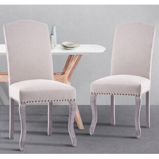 Mckibben Upholstered Dining Chair (Set of 2) by Charlton Home