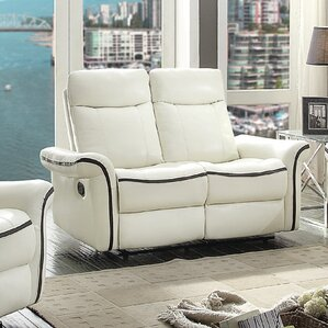 Carla Reclining Loveseat by Glory Furniture