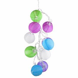 Price comparison 10-Light Lantern String Lights By LED Concepts