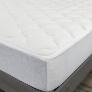 Rayon From Bamboo Down Alternative Mattress Pad by Alwyn Home Spacial Price