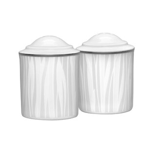 Glacier Platinum Salt & Pepper Shaker Set