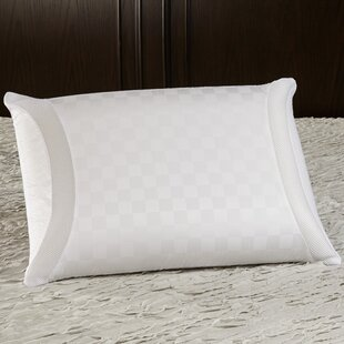 Classic Gel Memory Foam Pillow by Luxury Solutions