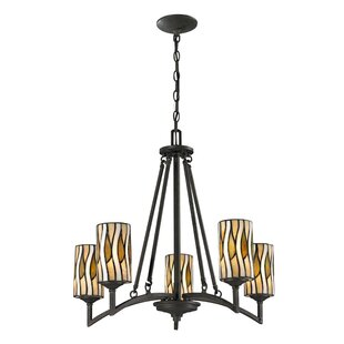 World Menagerie Russia 5-Light Shaded Chandelier