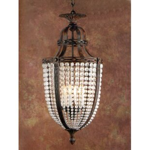 Zanin Lighting Inc. Longas 9-Light Urn Pe..