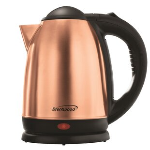 1.7 Qt. Cordless Stainless Steel Electric Tea Kettle