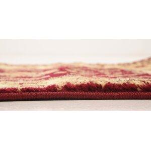 Niles Red/Cream Area Rug