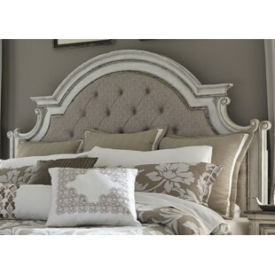 Affordable Price Treport Upholstered Panel Headboard by One Allium Way