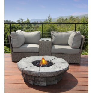 Simmerman 4 Piece Rattan Seating Group with Cushions