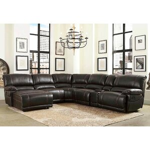 Widmer Reclining Sectional by Andover ..