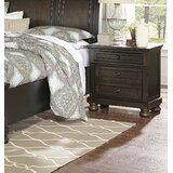 Dianna 2 Drawer Nightstand by Charlton Home®