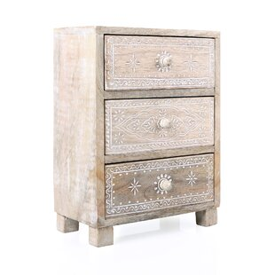 Pissouri 3 Drawer Accent Chest By Bungalow Rose