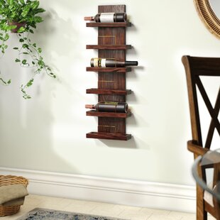Gomez 6 Bottle Wall Mounted Wine Rack by ..