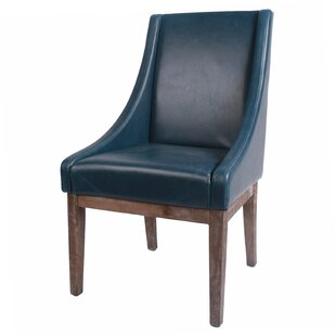 Charee Bonded Leather Side Chair