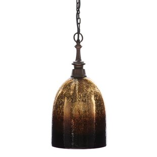 Garden City 1-Light Cone Pendant by Loon Peak