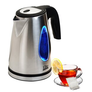 Platinum 1.7 Qt. Stainless Steel Electric Tea Kettle