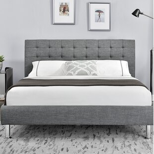 Rebersburg Upholstered Bed Frame By Marlow Home Co.