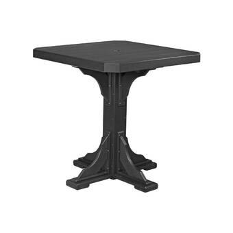 Latitude Run Paddington Outdoor Metal Dining Table Wayfair