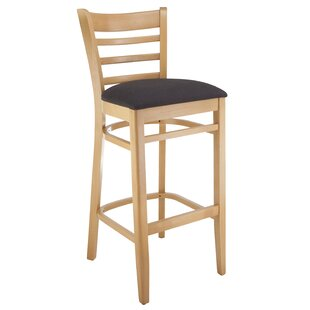 Jiminez Ladderback 30 Bar Stool Charlton Home