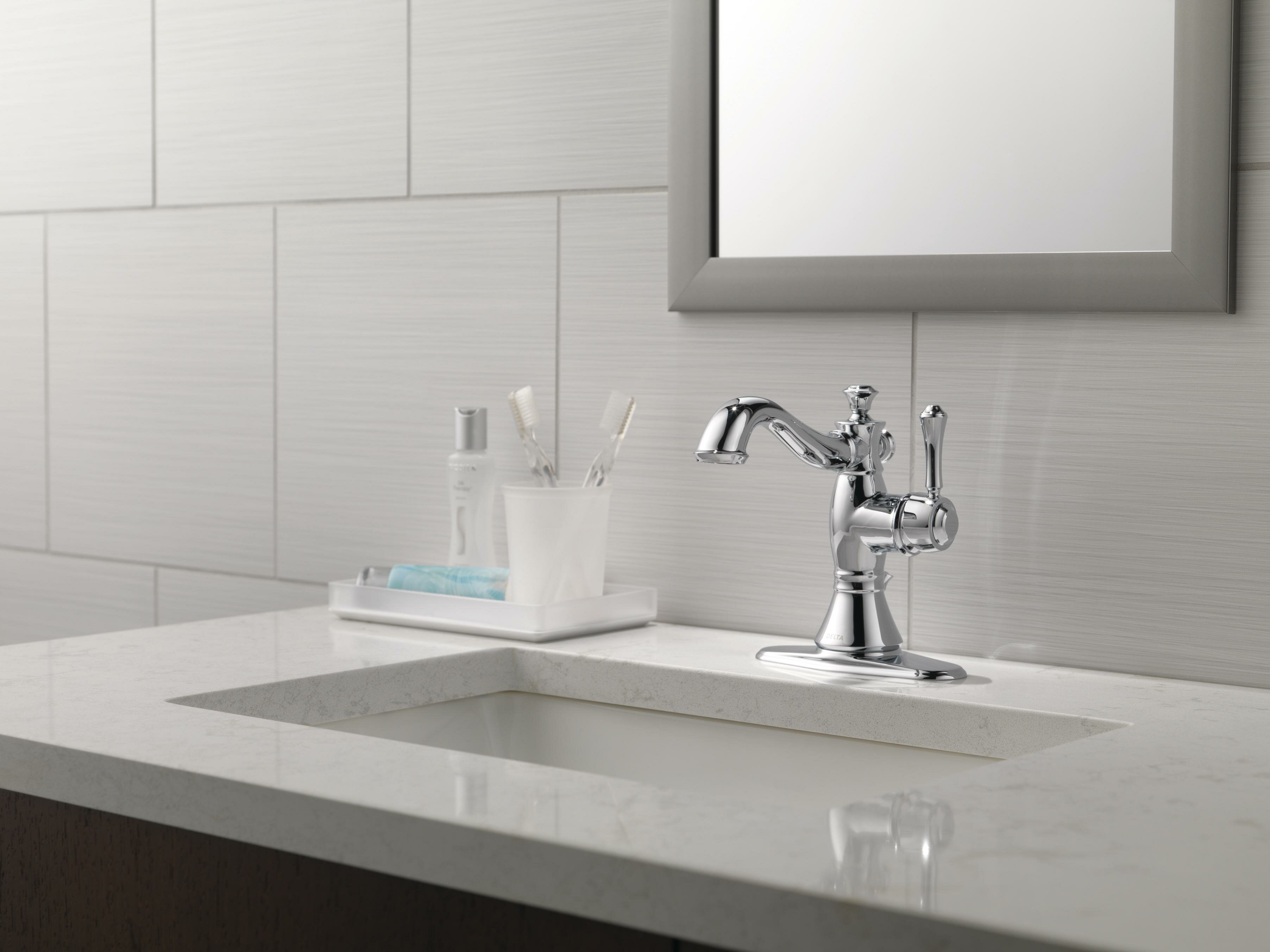 Cassidy Single Hole Bathroom Faucet With Drain Assembly Reviews Joss Main