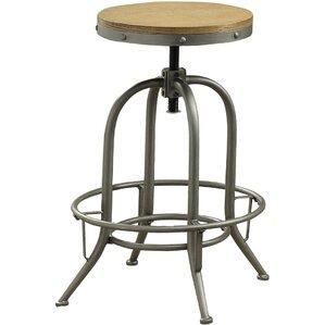 Boricco Adjustable Height Bar Stool (Set ..