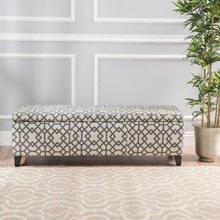 Scriber Upholstered Storage Bench ByWrought Studio